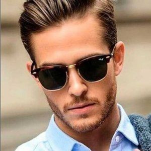 NEW Ray Ban Clubmaster RB3016 Tortoise G-15